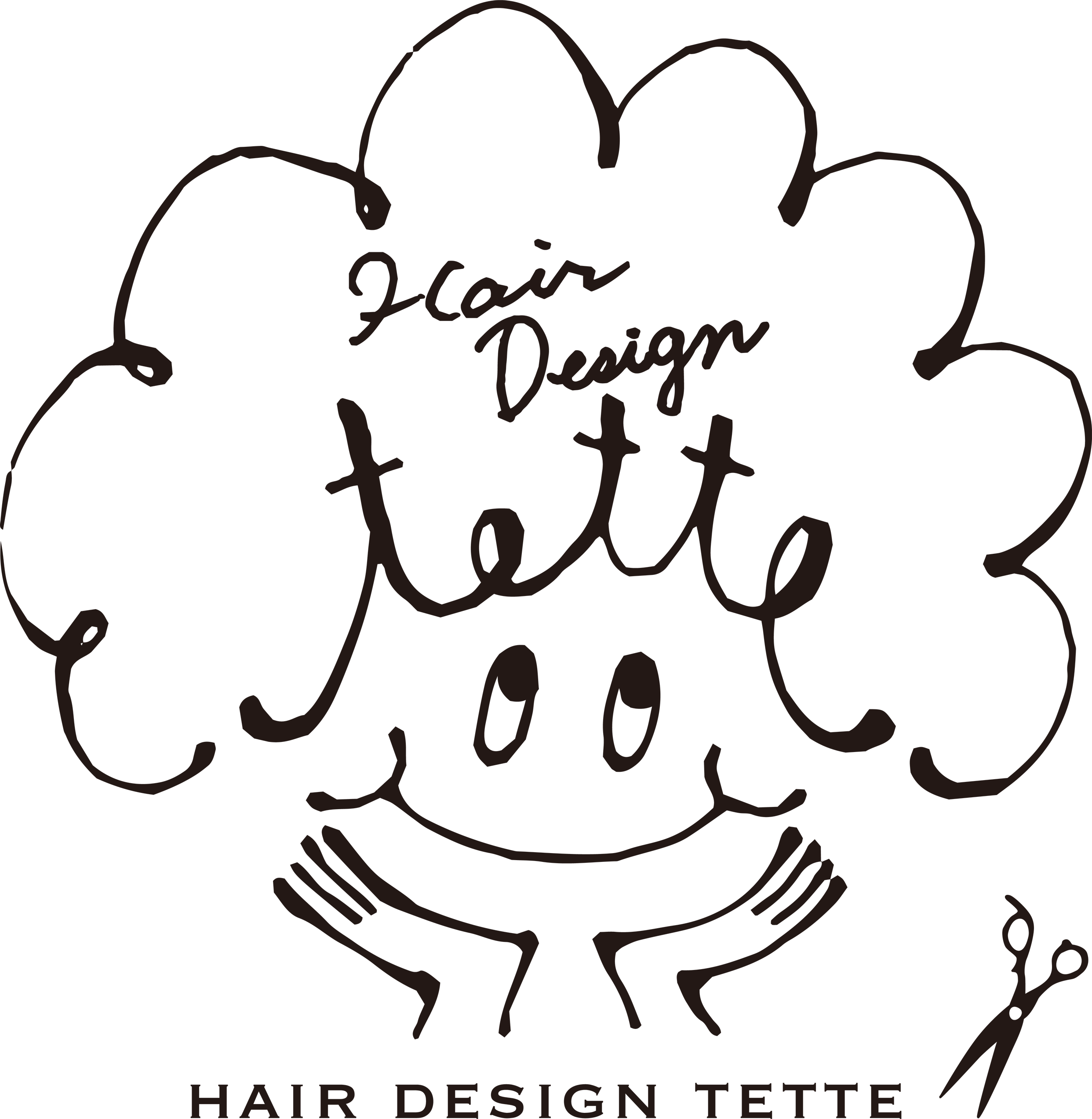 HAIR DESIGN tette